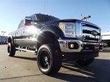 2012 Tuxedo Black Metallic Ford F250 Super Duty Lariat Crew Cab 4x4 #59053837