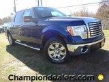 2011 Dark Blue Pearl Metallic Ford F150 XLT SuperCrew #59053835