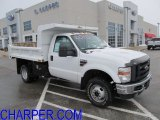 2010 Oxford White Ford F350 Super Duty XL Regular Cab 4x4 Chassis Dump Truck #59053786