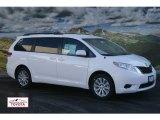 2012 Super White Toyota Sienna LE AWD #59053763