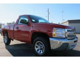 2012 Victory Red Chevrolet Silverado 1500 Work Truck Regular Cab #59054084