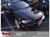 2004 Jet Black BMW 3 Series 330i Convertible #59054048