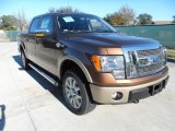 2012 Golden Bronze Metallic Ford F150 King Ranch SuperCrew 4x4 #59054023