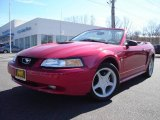 2000 Laser Red Metallic Ford Mustang GT Convertible #5879371