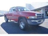2001 Flame Red Dodge Ram 1500 SLT Club Cab 4x4 #59117123