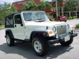 2006 Stone White Jeep Wrangler Unlimited 4x4 #544217