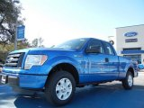 2012 Blue Flame Metallic Ford F150 STX SuperCab #59117068