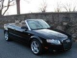 2008 Brilliant Black Audi A4 2.0T Cabriolet #59117065