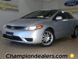 2007 Alabaster Silver Metallic Honda Civic LX Coupe #59117029