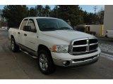 2004 Bright White Dodge Ram 1500 SLT Quad Cab 4x4 #59117496