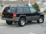Black Jeep Grand Cherokee in 1996