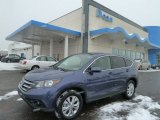 2012 Twilight Blue Metallic Honda CR-V EX 4WD #59117485