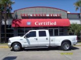 2005 Oxford White Ford F350 Super Duty Lariat Crew Cab Dually #5884318