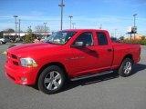 2012 Flame Red Dodge Ram 1500 Express Quad Cab 4x4 #59117473