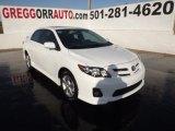 2011 Super White Toyota Corolla S #59117240