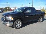2012 Black Dodge Ram 1500 Big Horn Quad Cab 4x4 #59117466
