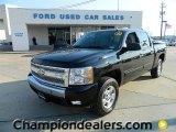 2007 Black Chevrolet Silverado 1500 LT Crew Cab 4x4 #59116923
