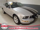 2007 Satin Silver Metallic Ford Mustang V6 Premium Coupe #59116788