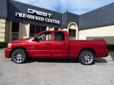 2006 Inferno Red Crystal Pearl Dodge Ram 1500 SRT-10 Quad Cab #59168980