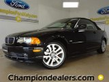 2001 Jet Black BMW 3 Series 330i Convertible #59168529