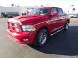 2012 Flame Red Dodge Ram 1500 Sport Crew Cab #59168901