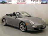 2008 Meteor Grey Metallic Porsche 911 Carrera S Cabriolet #59168869