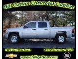 2011 Sheer Silver Metallic Chevrolet Silverado 1500 LT Crew Cab 4x4 #59169254