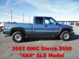 2007 Stealth Gray Metallic GMC Sierra 2500HD Classic SLE Extended Cab 4x4 #59169219