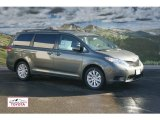2012 Cypress Green Pearl Toyota Sienna LE AWD #59168374