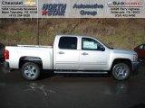 2012 Silver Ice Metallic Chevrolet Silverado 1500 LT Crew Cab 4x4 #59168763