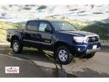 2012 Nautical Blue Metallic Toyota Tacoma V6 SR5 Double Cab 4x4 #59168372