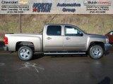 2012 Mocha Steel Metallic Chevrolet Silverado 1500 LT Crew Cab 4x4 #59168762