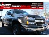 2007 Black Chevrolet Silverado 1500 LT Crew Cab 4x4 #59168739