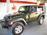 2010 Natural Green Pearl Jeep Wrangler Rubicon 4x4 #59168340