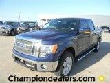 2011 Dark Blue Pearl Metallic Ford F150 Lariat SuperCrew 4x4 #59168264