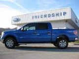 2012 Blue Flame Metallic Ford F150 XLT SuperCrew 4x4 #59168644