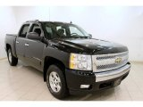 2007 Black Chevrolet Silverado 1500 LT Crew Cab 4x4 #59169045