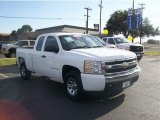 2008 Summit White Chevrolet Silverado 1500 LS Extended Cab #59168616