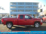 2008 Victory Red Chevrolet Silverado 1500 LT Extended Cab 4x4 #59242666