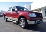 2006 Dark Toreador Red Metallic Ford F150 XLT SuperCrew 4x4 #59242657