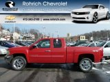 2012 Victory Red Chevrolet Silverado 1500 LT Extended Cab 4x4 #59243441