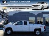 2012 Summit White Chevrolet Silverado 1500 LT Extended Cab 4x4 #59243436