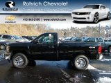 2012 Black Chevrolet Silverado 1500 LS Regular Cab 4x4 #59243435