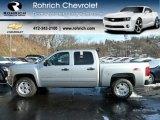 2012 Silver Ice Metallic Chevrolet Silverado 1500 LT Crew Cab 4x4 #59243434