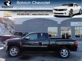2012 Black Chevrolet Silverado 1500 LT Extended Cab 4x4 #59243433