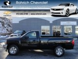 2012 Black Chevrolet Silverado 1500 LT Regular Cab 4x4 #59243430