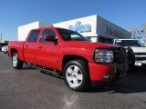 2008 Victory Red Chevrolet Silverado 1500 LT Crew Cab #59243017
