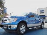 2012 Blue Flame Metallic Ford F150 XLT SuperCrew #59242606