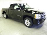 2012 Black Chevrolet Silverado 1500 LT Extended Cab 4x4 #59242999