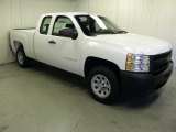 2012 Summit White Chevrolet Silverado 1500 Work Truck Extended Cab #59242998